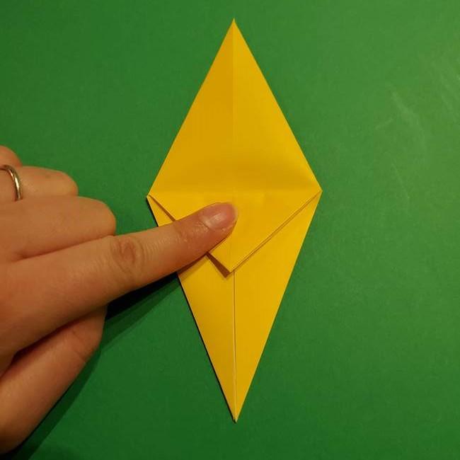 ミミッキュ 折り紙の折り方作り方1顔(17)