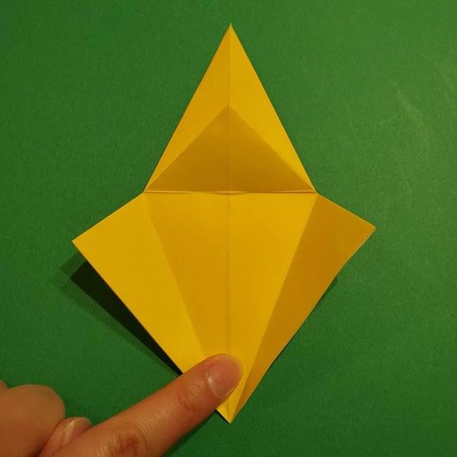 ミミッキュ 折り紙の折り方作り方1顔(18)