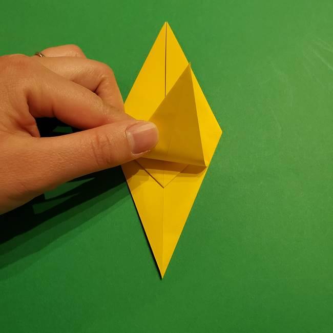 ミミッキュ 折り紙の折り方作り方1顔(21)