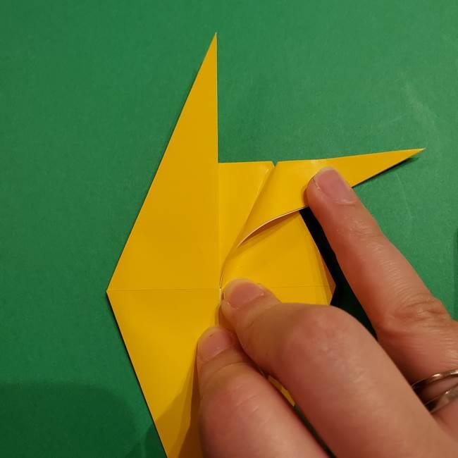 ミミッキュ 折り紙の折り方作り方1顔(25)