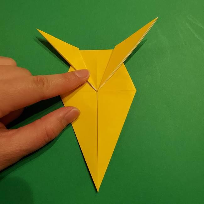 ミミッキュ 折り紙の折り方作り方1顔(26)