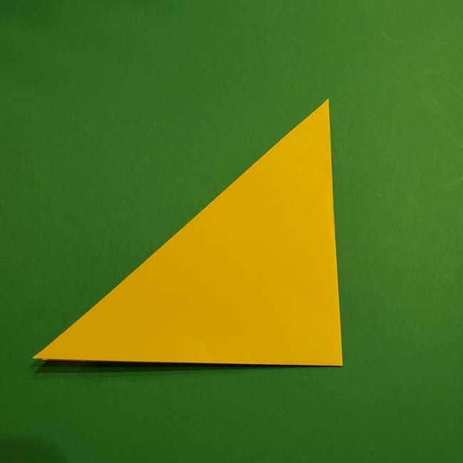 ミミッキュ 折り紙の折り方作り方1顔(3)