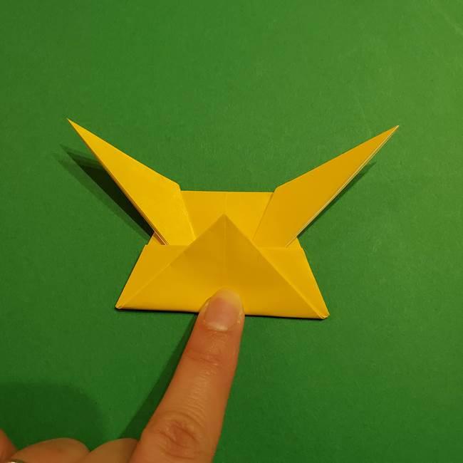 ミミッキュ 折り紙の折り方作り方1顔(30)