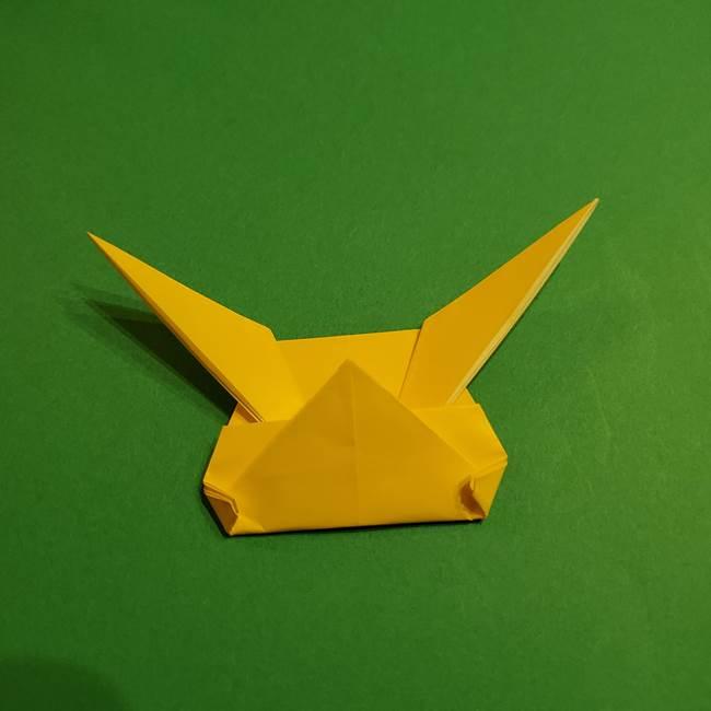 ミミッキュ 折り紙の折り方作り方1顔(31)
