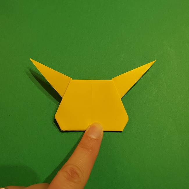 ミミッキュ 折り紙の折り方作り方1顔(32)