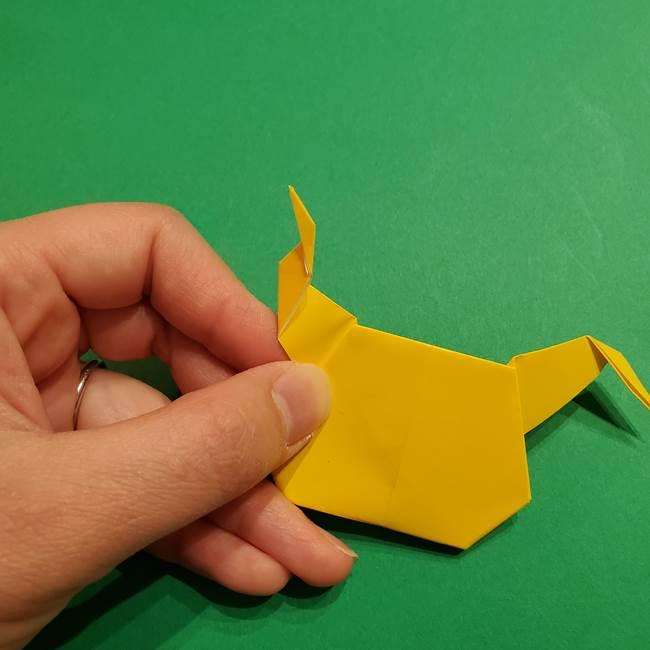 ミミッキュ 折り紙の折り方作り方1顔(34)