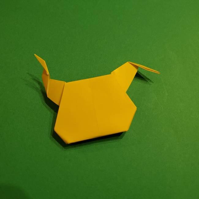 ミミッキュ 折り紙の折り方作り方1顔(35)