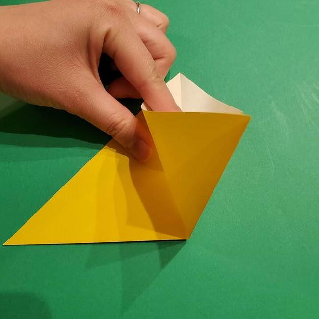 ミミッキュ 折り紙の折り方作り方1顔(4)