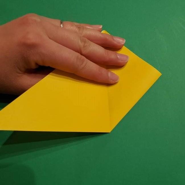 ミミッキュ 折り紙の折り方作り方1顔(7)