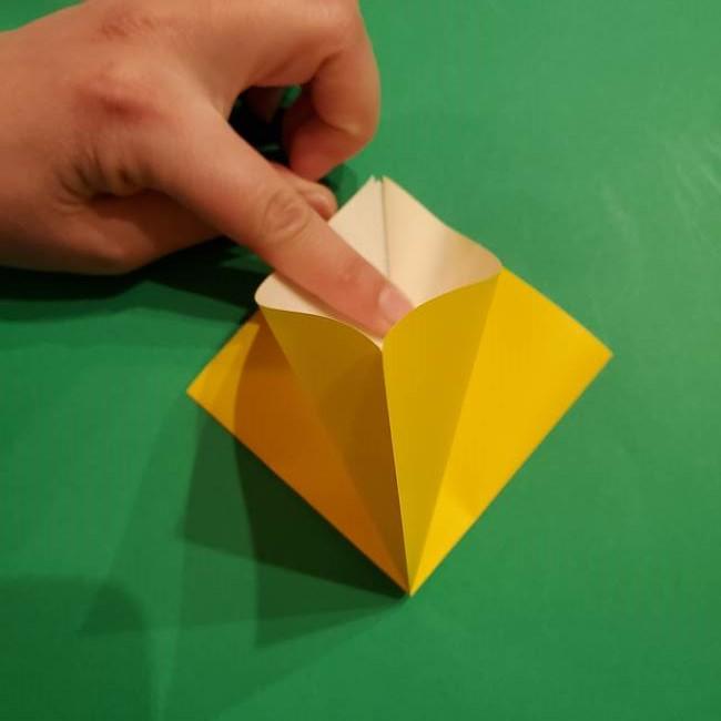 ミミッキュ 折り紙の折り方作り方1顔(8)