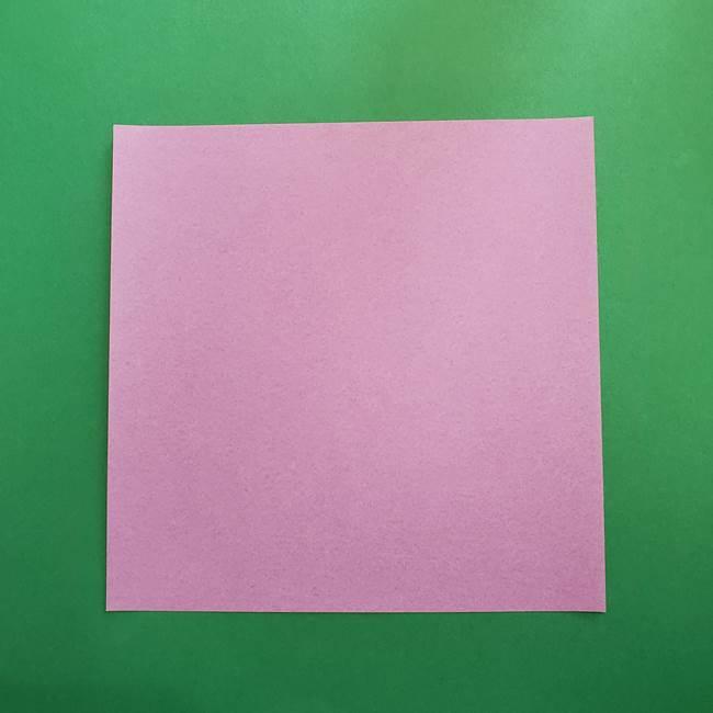 ミュウツーの折り紙の作り方*材料と道具(1)