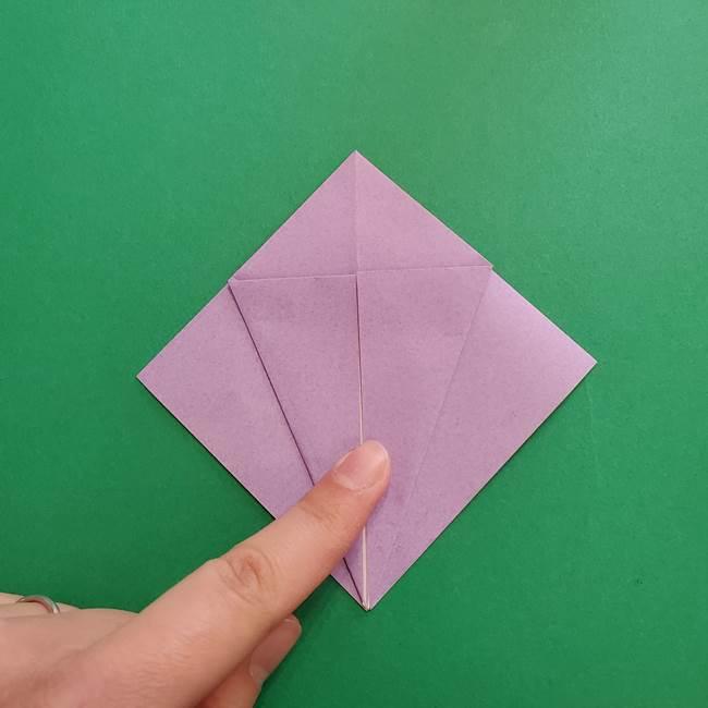 ミュウツーの折り紙の折り方作り方(12)