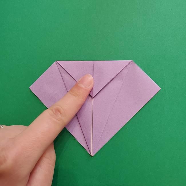 ミュウツーの折り紙の折り方作り方(13)