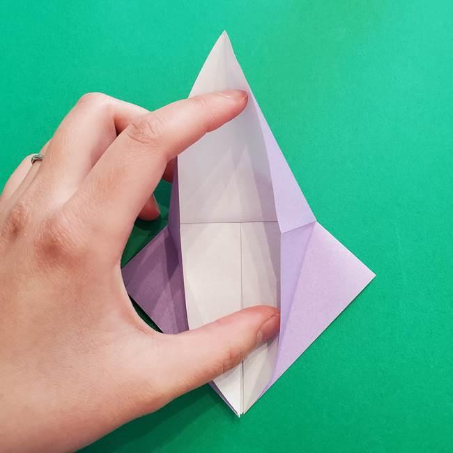 ミュウツーの折り紙の折り方作り方(15)