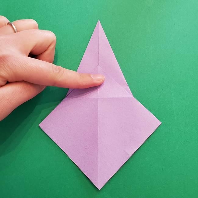 ミュウツーの折り紙の折り方作り方(17)