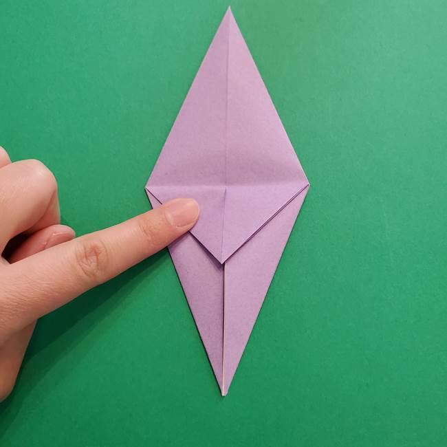 ミュウツーの折り紙の折り方作り方(18)