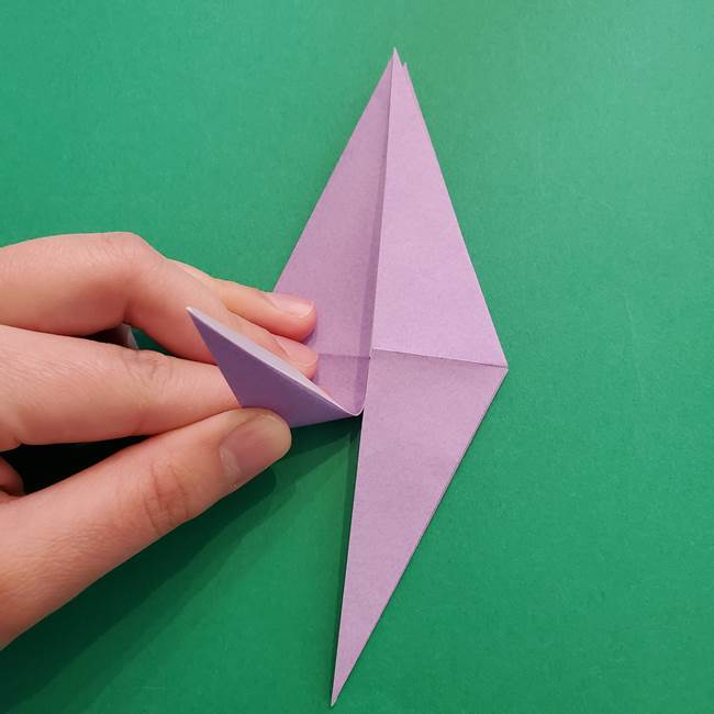 ミュウツーの折り紙の折り方作り方(21)