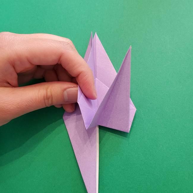 ミュウツーの折り紙の折り方作り方(23)