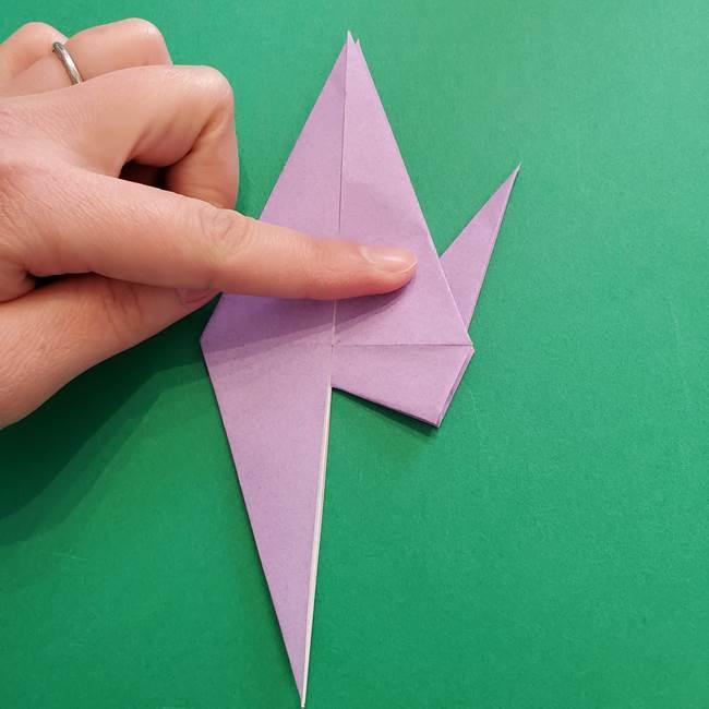 ミュウツーの折り紙の折り方作り方(24)