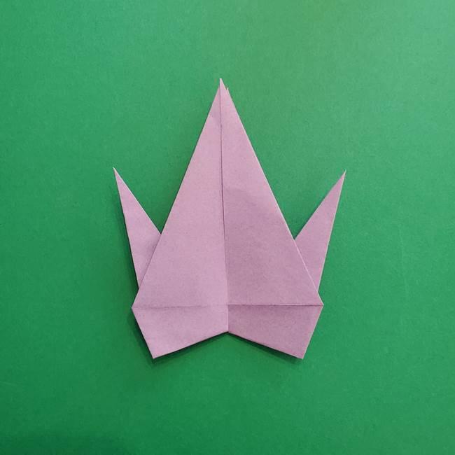 ミュウツーの折り紙の折り方作り方(25)