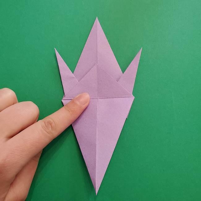 ミュウツーの折り紙の折り方作り方(26)