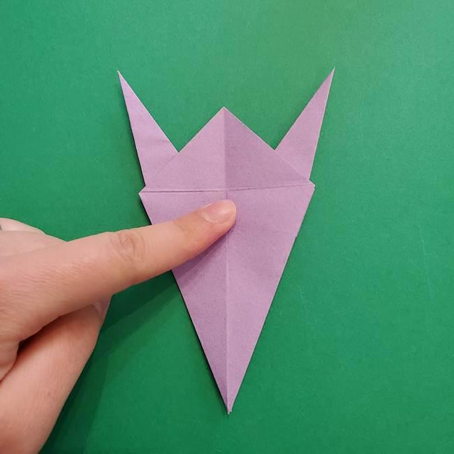 ミュウツーの折り紙の折り方作り方(27)