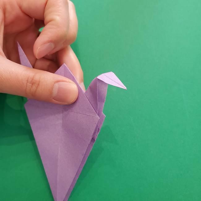 ミュウツーの折り紙の折り方作り方(28)