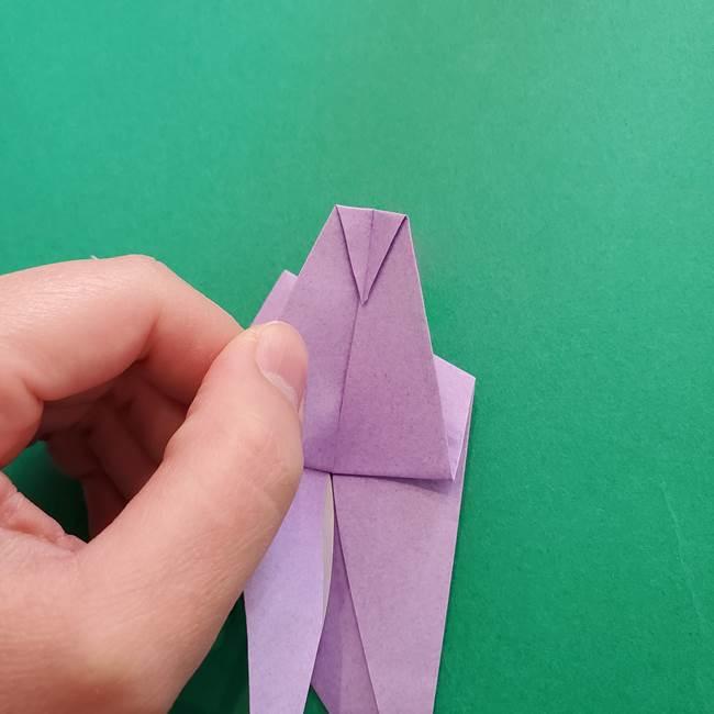 ミュウツーの折り紙の折り方作り方(29)