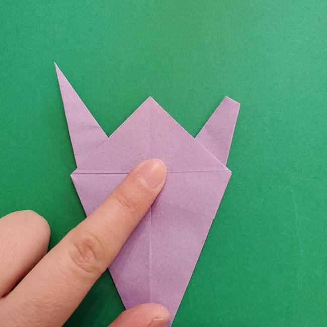 ミュウツーの折り紙の折り方作り方(30)