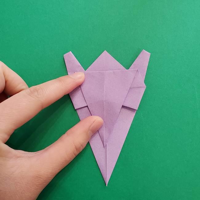 ミュウツーの折り紙の折り方作り方(33)