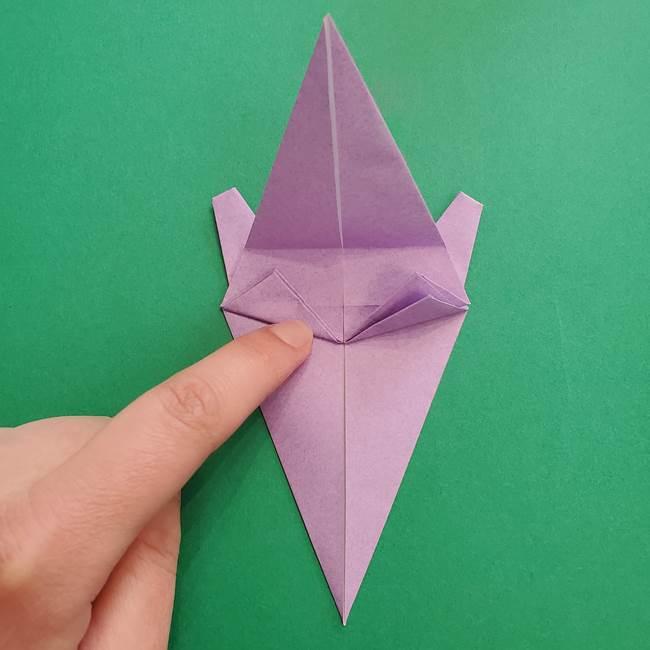 ミュウツーの折り紙の折り方作り方(34)