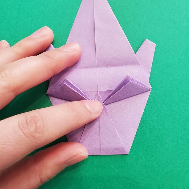 ミュウツーの折り紙の折り方作り方(35)
