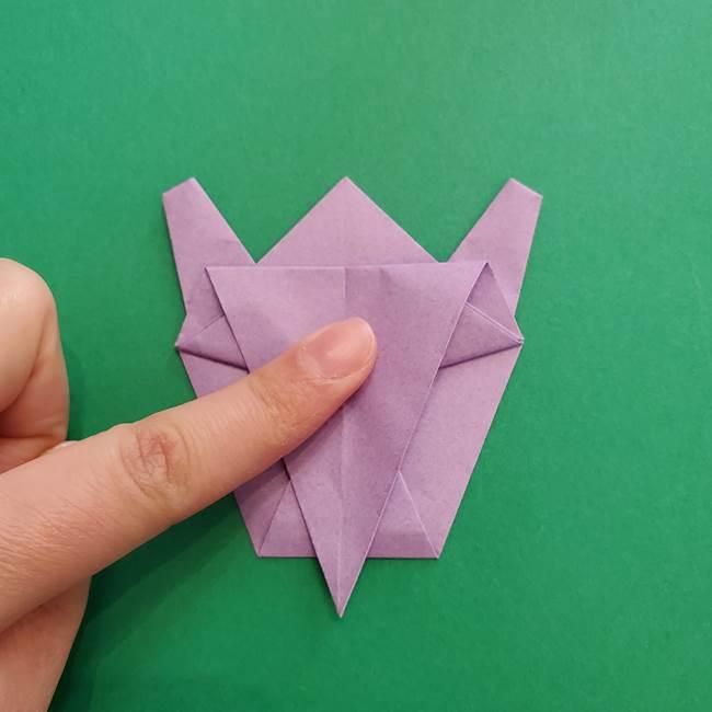 ミュウツーの折り紙の折り方作り方(36)