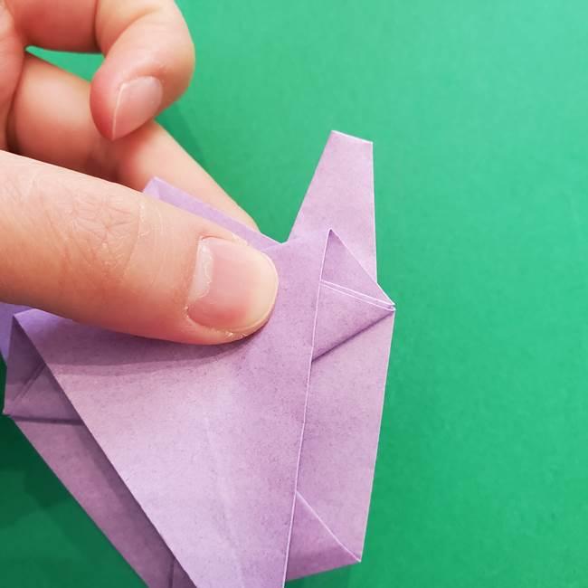 ミュウツーの折り紙の折り方作り方(37)