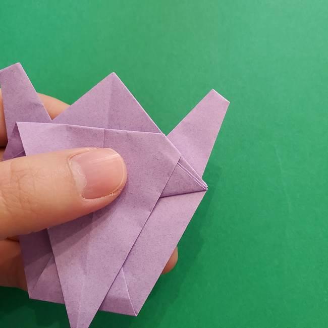 ミュウツーの折り紙の折り方作り方(38)