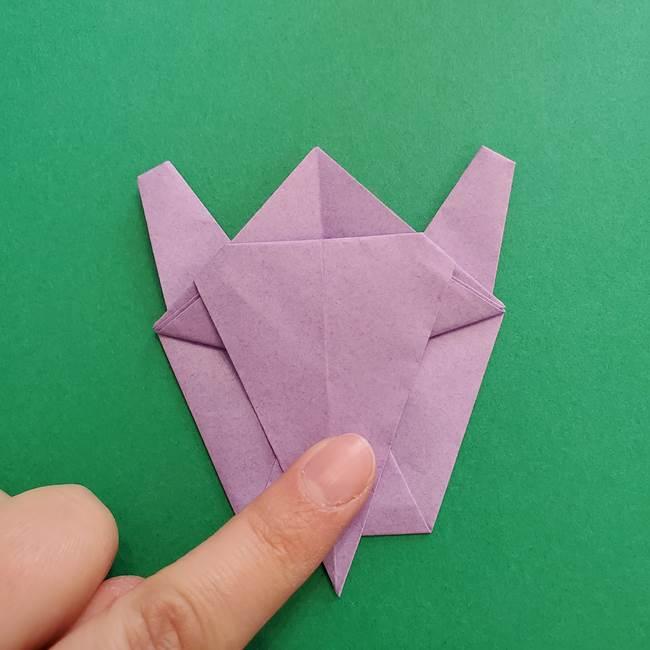 ミュウツーの折り紙の折り方作り方(39)