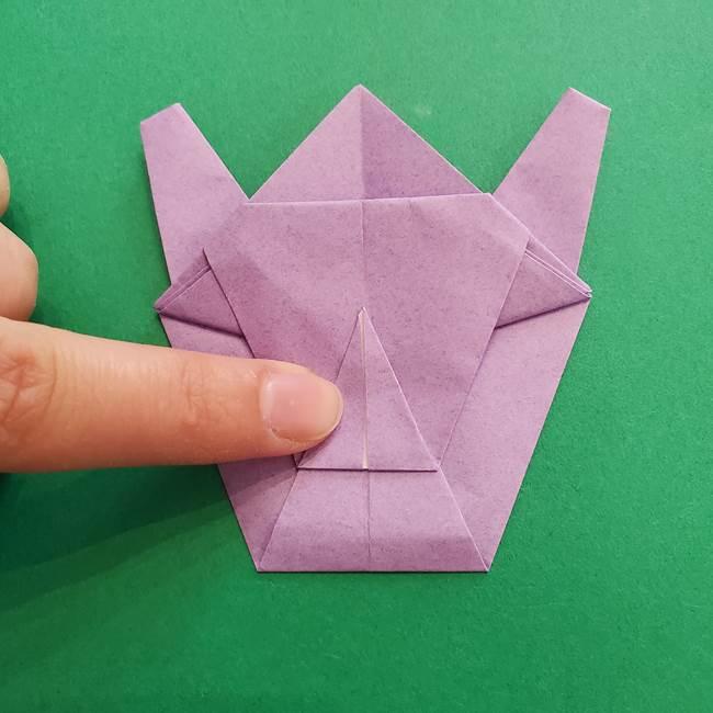 ミュウツーの折り紙の折り方作り方(40)