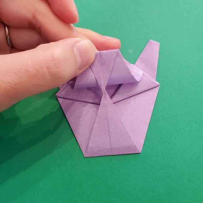 ミュウツーの折り紙の折り方作り方(41)