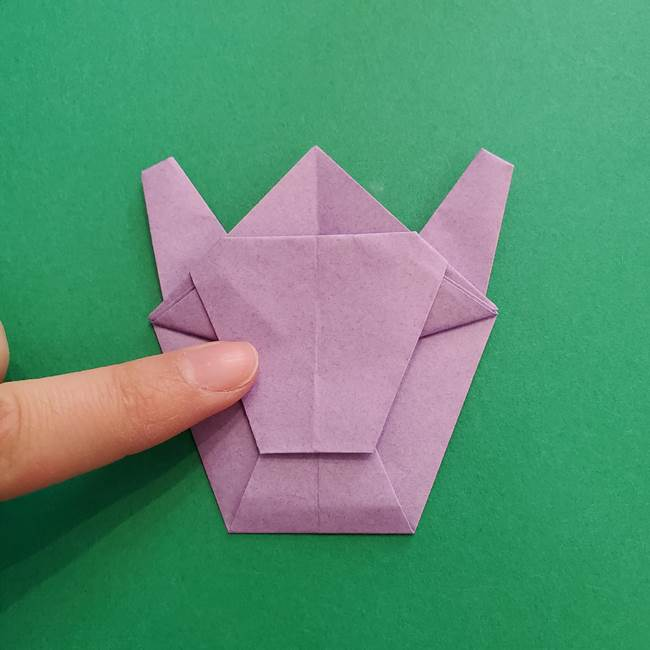 ミュウツーの折り紙の折り方作り方(42)