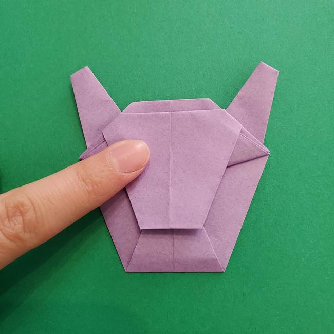 ミュウツーの折り紙の折り方作り方(43)