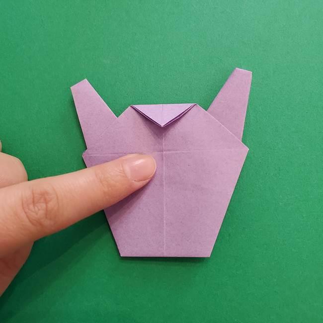 ミュウツーの折り紙の折り方作り方(44)