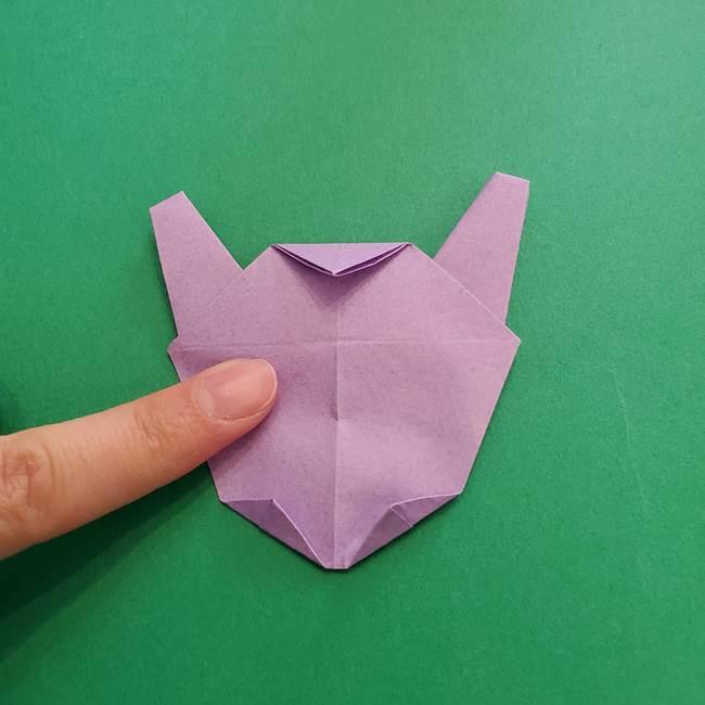 ミュウツーの折り紙の折り方作り方(45)