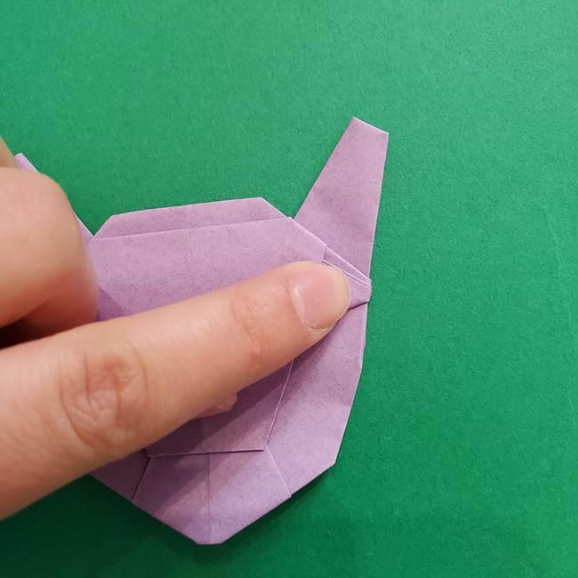 ミュウツーの折り紙の折り方作り方(47)
