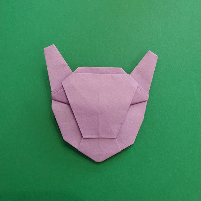 ミュウツーの折り紙の折り方作り方(48)