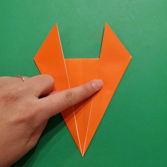 リザードンの折り紙の簡単な折り方・作り方(6)