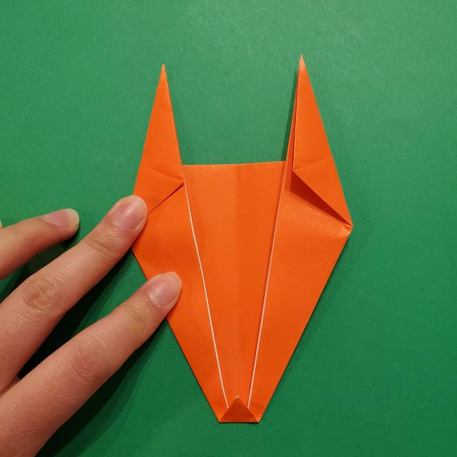 リザードンの折り紙の簡単な折り方・作り方(8)