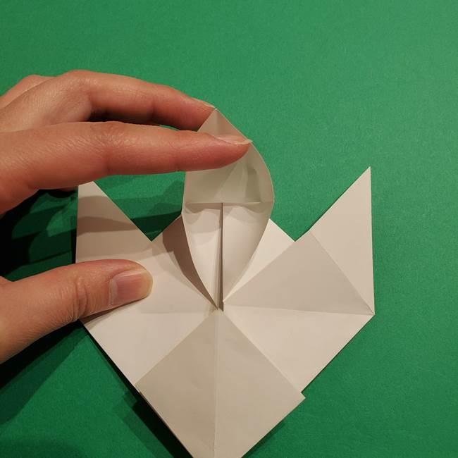 ルギアの折り方作り方(折り図)(22)