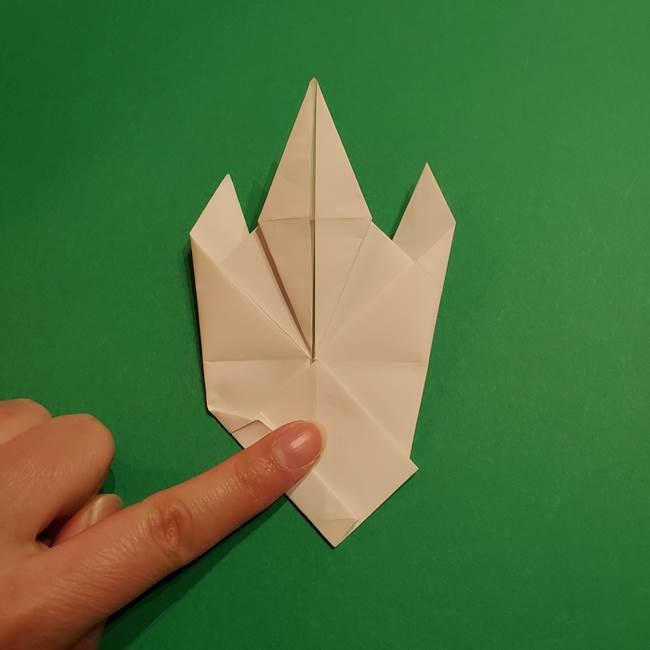 ルギアの折り方作り方(折り図)(29)