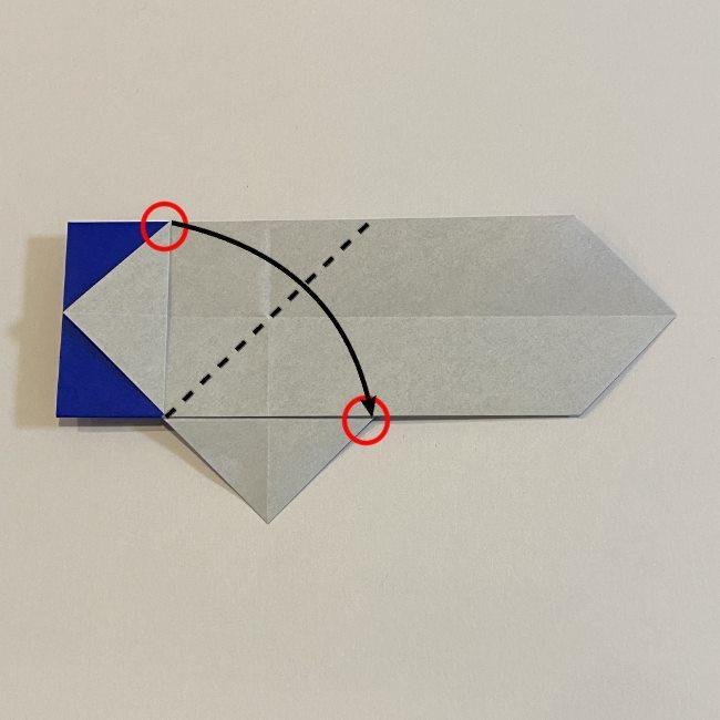 兜の箸袋の折り方作り方 (10)1