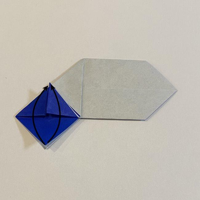 兜の箸袋の折り方作り方 (16)